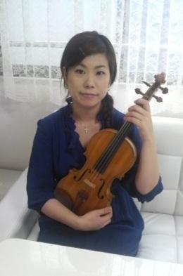ヴァイオリン 横田詠美2