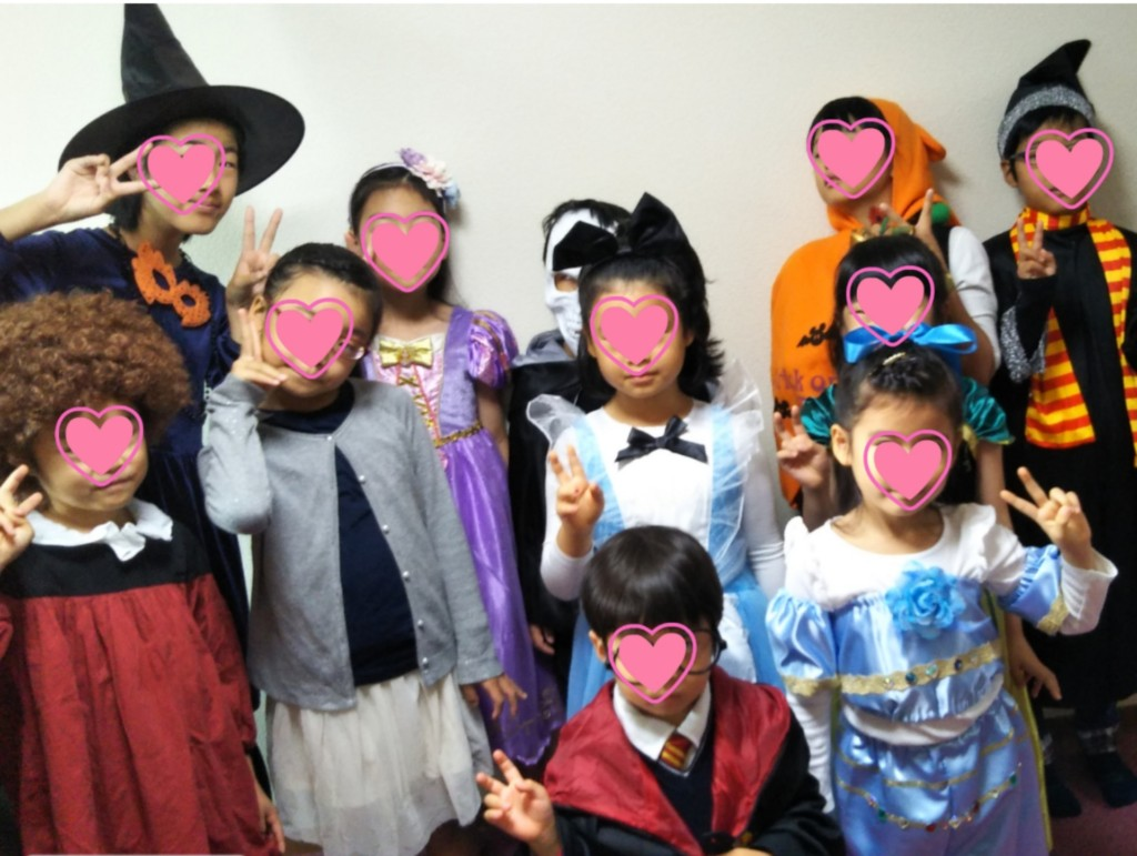 2018年 10月のグループ【ハロウィンパーティー】