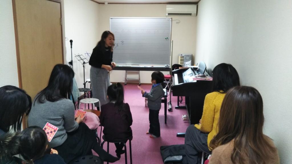 2019年1月のグループレッスン【楽典&新年会】